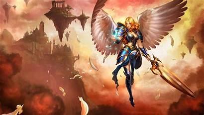 Legends League Kayle 4k Lol Wings Sword