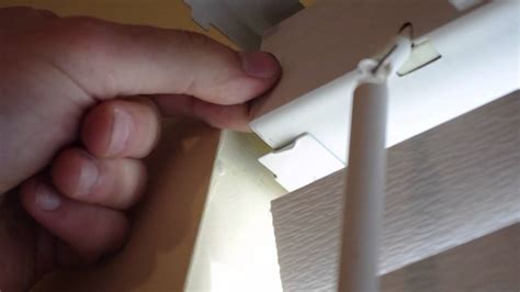 How To Adjust  Repair Window Blinds Youtube