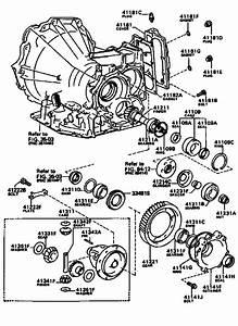 Transmission Toyota Diagram Automatic 3050045010