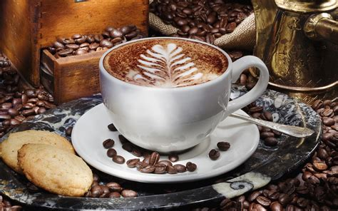 cuisine cappuccino coffee hd wallpaper and background 2560x1600 id