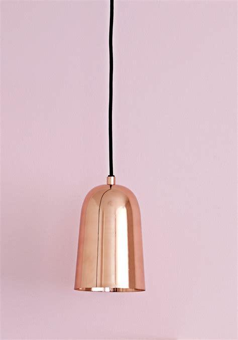 best seller freja copper pendant light from bodie and fou