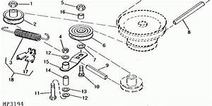John Deere 48 Inch Mower Deck Belt Diagram