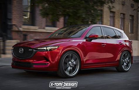 mazda cx  mps turbo rendered good idea