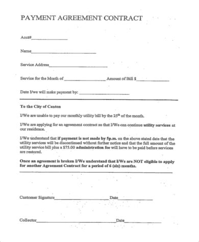 Payment Agreement  9+ Free Documents In Word, Pdf. Moving Sale Signs. Toefl Independent Writing Template. Google Docs Gift Certificate Template. Business Moving Announcement Template. Avery Binder Spines Template. Concert Ticket Template Free Printable. Critical Care Nursing Jobs For New Graduates. Free Cv Template Download