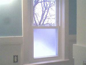 bathroom window ideas for privacy With how to make bathroom window private