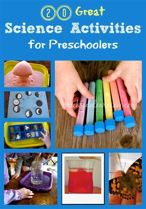 20 great science activities for preschoolers to be 559 | 4050bfe027e2cd0f339654d9009539bb