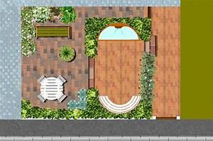 comment amenager un petit jardin rectangulaire fashion With comment amenager un jardin rectangulaire 0 amenagement rez de jardin monjardin materrasse