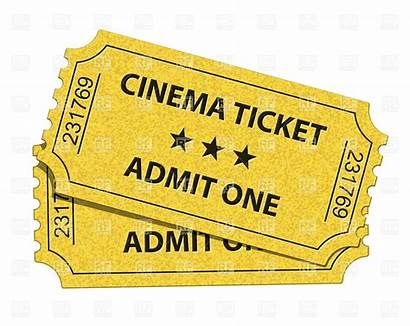 Clipart Theater Clip Vector Ticket Tickets Cinema