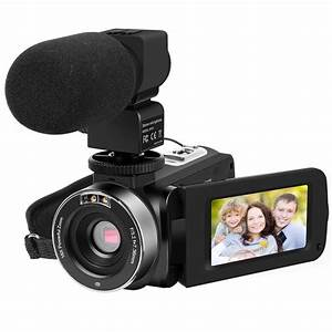 New Full HD 1080P Digital Camera16x Zoom Recorder Camcorder Video Camera Recorder with External ...