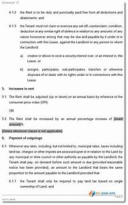 capital lease agreement template lease for agricultural With capital lease template