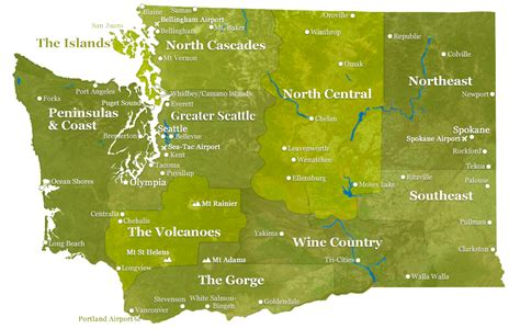 washington state map experiencewacom