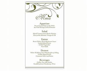 wedding menu template diy menu card template editable text With free printable wedding menu card templates