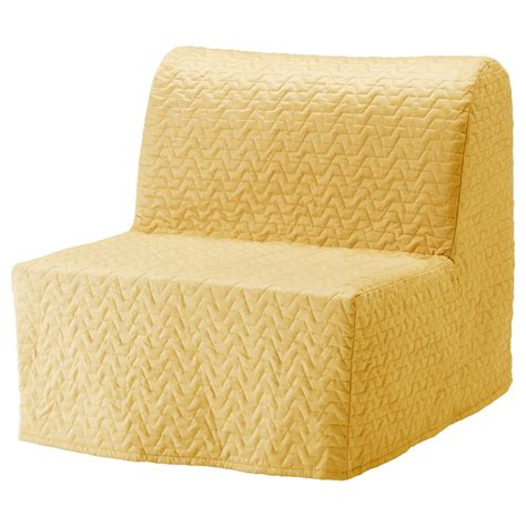 Lycksele Chair Bed by Lycksele Chair Bed Cover Vallarum Yellow Ikea