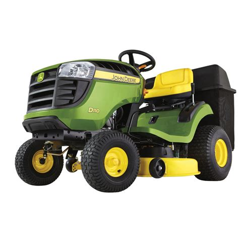 deere d110 lawn tractor overview price spec performance