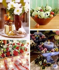 Christmas Dining Table Centerpiece Ideas
