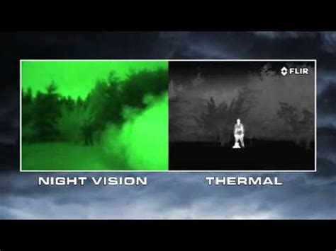 night vision  thermal imaging youtube