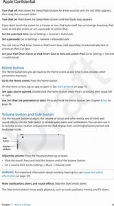 Apple A1474 Tablet Device User Manual Ipad User Guide V1 0