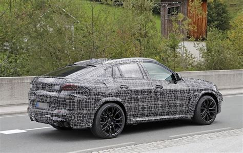 2020 Bmw X6 M Spied Up Close And Personal