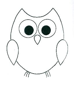 owl outline drawing simple owl outline diy gifts outlines owl