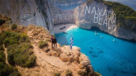 Navagio Shipwreck Beach Zakynthos Greece 4k Youtube