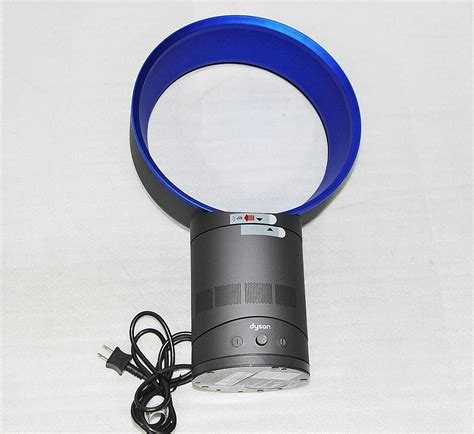 dyson am01 table fan review dyson am01 air multiplier 10 quot bladeless table fan blue