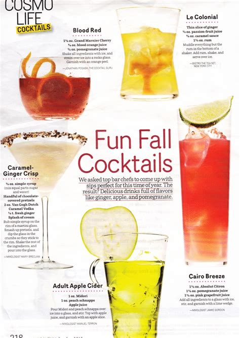 fall drink ideas fall cocktails specialty drink ideas i m getting marrieddd