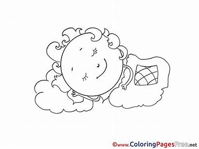 Blanket Colouring Coloring Pages Sheet Title