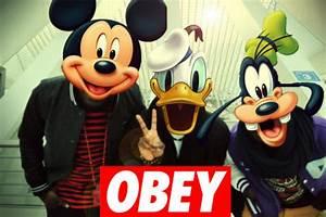 mickey swag obey supreme | Tumblr