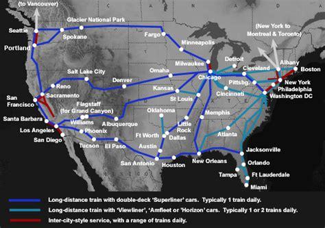 coast  coast  routes  west  east coast usa