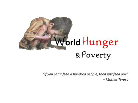 hunger definition world hunger poverty