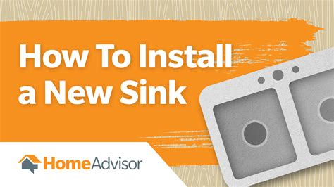 how to change kitchen sink how to install a new kitchen or bathroom sink homeadvisor 7205