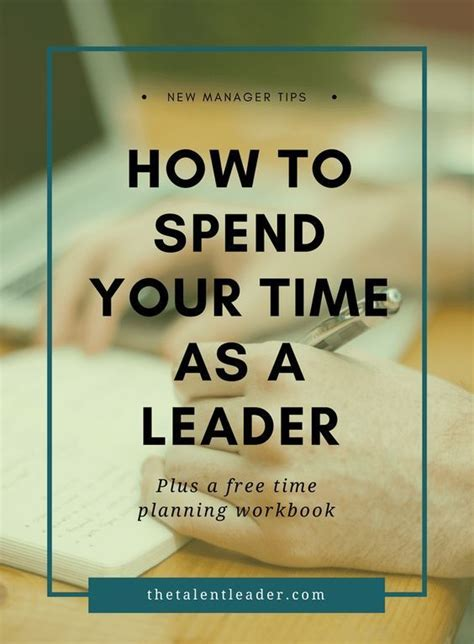spend  time    manager leadership