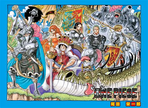 Every Single One Piece Cover Page 1-707