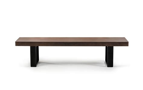 lola modern wenge walnut bench dining benches dining room