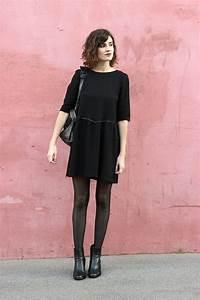 Bottines Avec Robe : comment porter le court en hiver dress like a parisian ~ Carolinahurricanesstore.com Idées de Décoration
