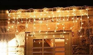 Lichterkette Eisregen Außen 10m : 600er led eisregen lichterkette lichtervorhang eiszapfen warmwei au en innen deko f r garten ~ Buech-reservation.com Haus und Dekorationen