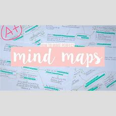 How To Make The Perfect Mind Map  Jess Louise Youtube