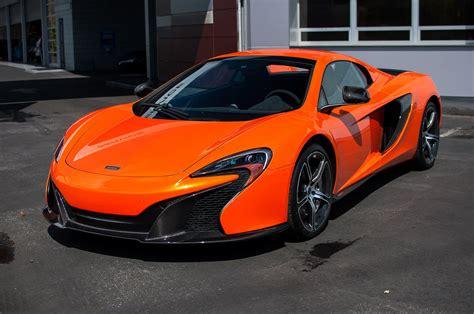 2015 650s Car Mclaren Orange Tarocco Spider Supercar