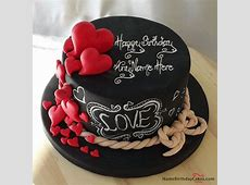 49 best ideas about Name Birthday Cakes For Lover on