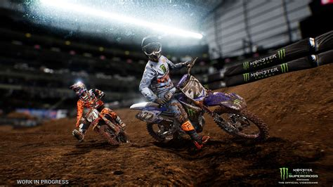 monster energy motocross square enix announces monster energy motocross game for