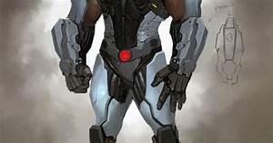 Concept art of Cyborg for Injustice Gods Among Us ...