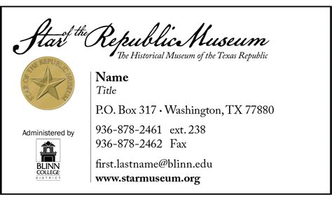 Order Form Star Of The Republic Card Template