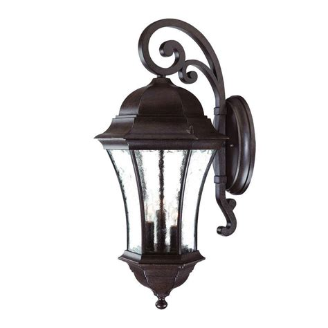 acclaim lighting waverly collection 3 light black coral