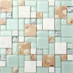 kitchen tile pattern ideas kitchen bath mosaic tile glass seashell wall backsplash