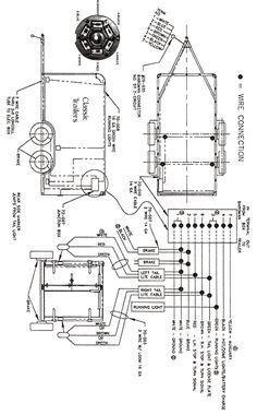 rv travel trailer junction box wiring diagram trailer wiring diagram 7 wire circuit trailers