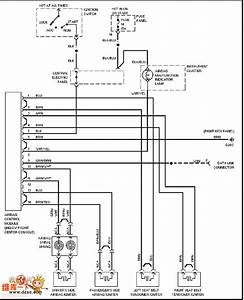 The Audi Air Bag Circuit - Automotive Circuit - Circuit Diagram