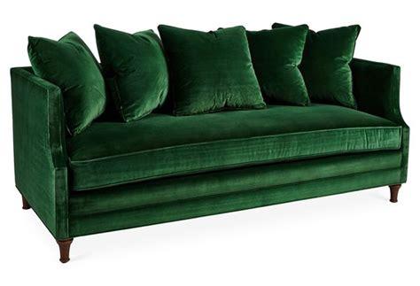 sofa veludo verde escuro sof 225 veludo esmeralda casa house decora 199 195 o forniture