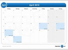 Kalender April 2019 Picture to Pin on Pinterest ThePinsta
