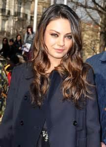 Mila Kunis Hair Back