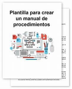 Plantilla Para Crear Manual De Procedimientos